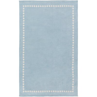 Abigail Blue Area Rug Rug Size: Rectangle 33 x 53