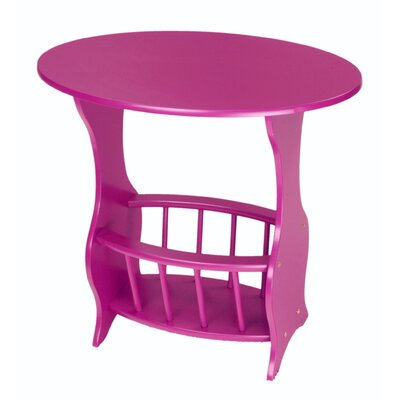 Console Table Color: Purple