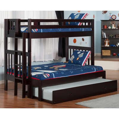 Edd Twin over Full Bunk Bed with Trundle