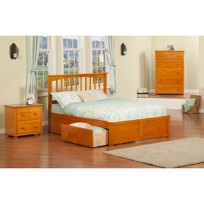 Enrique Mission Panel 3 Piece Bedroom Set Size: Twin, Finish: Caramel Latte