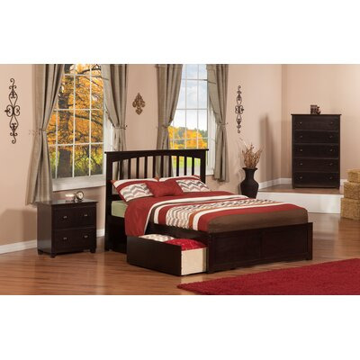 Enrique Mission Panel 3 Piece Bedroom Set Size: Twin, Finish: Espresso