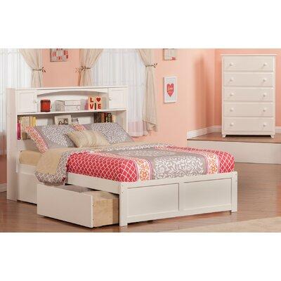 Edwin Platform 2 Piece Bedroom Set Size: Twin, Finish: White