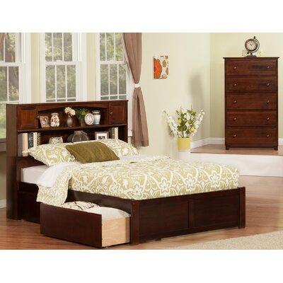 Edwin Platform 2 Piece Bedroom Set Finish: Antique Walnut, Size: Full