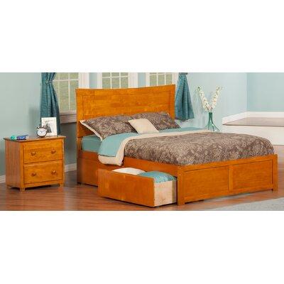 Egon Panel 2 Piece Bedroom Set Size: Twin, Finish: Caramel Latte