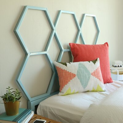 Culford Twin Open-Frame Headboard Finish: Blue