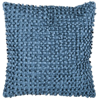 Isabelle Synthetic Throw Pillow Size: 22 H x 22 W, Color: Bright Blue, Fill: Polyester
