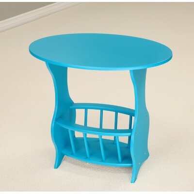 Console Table Color: Blue