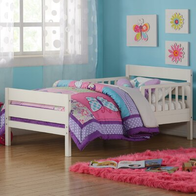 Neill Toddler Bed Color: White