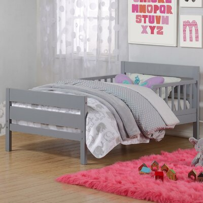 Neill Toddler Bed Color: Gray