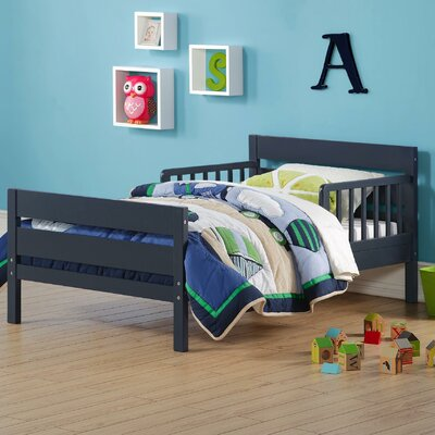 Neill Toddler Bed Color: Graphite Blue