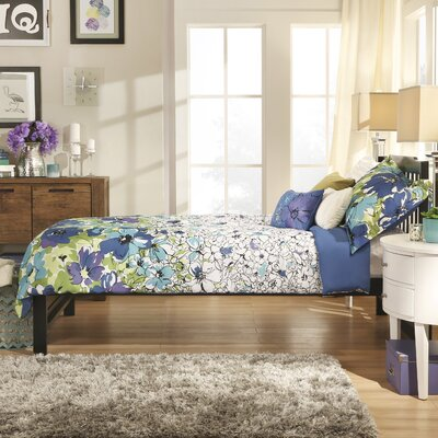 Theodore Twin Captain Bed Finish: Black