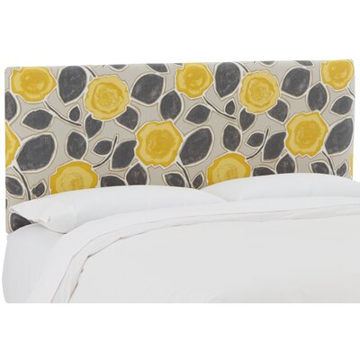 Maceo Robert Upholstered Panel Headboard Size: King