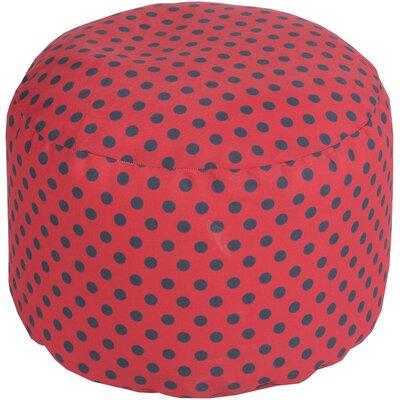 Valentina Pouf Ottoman Upholstery: Poppy