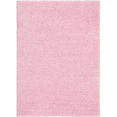 Sparrow James Midnight Light Pink Area Rug Rug Size: 5 x 7