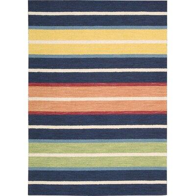 Hawn Hand-Loomed Area Rug Rug Size: 36 x 56