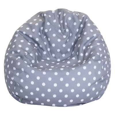 Telly Bean Bag Chair Upholstery: Gray