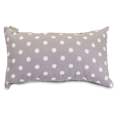 Telly Outdoor Lumbar Pillow Fabric: Gray