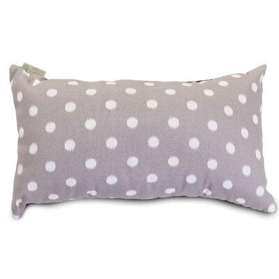 Telly Indoor/Outdoor Lumbar Pillow Fabric: Gray