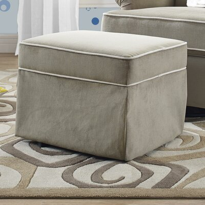 Arpad Flynn Alexander Gliding Ottoman Upholstery: Taupe