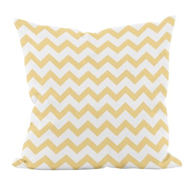 Milo Decorative Throw Pillow Size: 18 H x 18 W, Color: Yellow Haze
