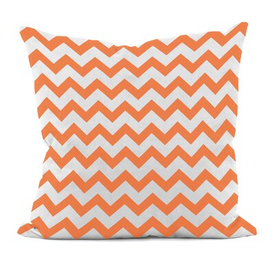 Milo Decorative Throw Pillow Size: 16 H x 16 W, Color: Celosia Orange