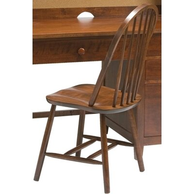 David Bow Back Side Chair Finish: Cherry