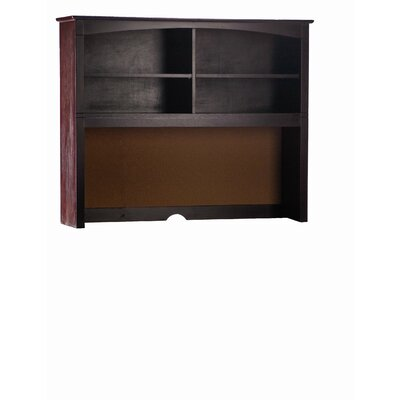 Bonneau 42 H x 52 W Desk Hutch Finish: Espresso