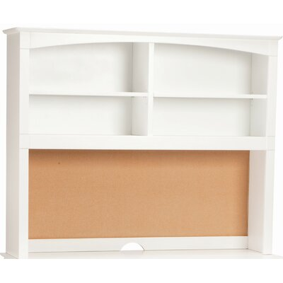 David 42 H x 52 W Desk Hutch Finish: White