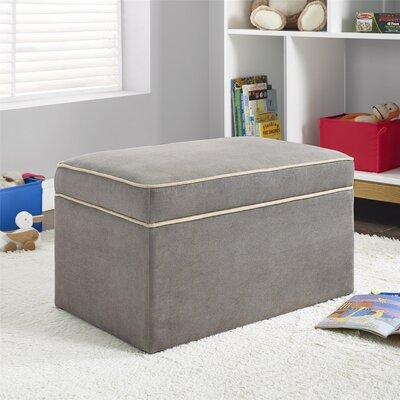 Jacob Storage Ottoman Upholstery: Dark Taupe