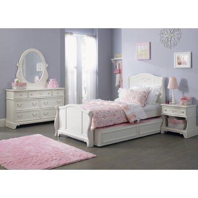 Maia Sleigh Customizable Bedroom Set