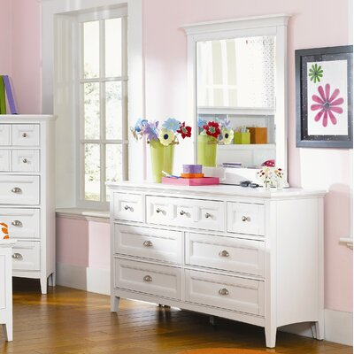Poet 7 Drawer Dresser with Mirror