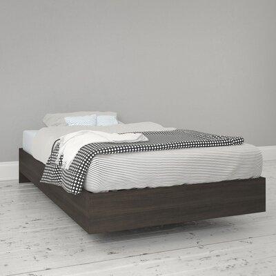 Marcheline Twin Platform Bed Finish: Ebony
