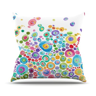 Cruz David Outdoor Throw Pillow Size: 20 H x 20 W x 4 D