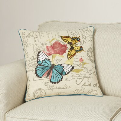 Olyphant Cotton Throw Pillow