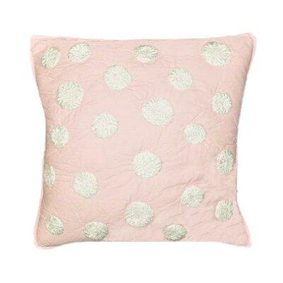 Iman Cotton Throw Pillow Color: Pink