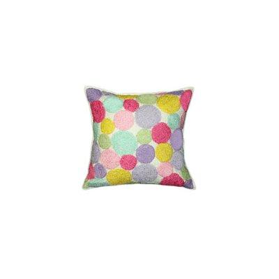 Iman Cotton Throw Pillow Color: Multi