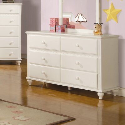 Ronnie 6 Drawer Double Dresser