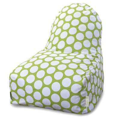 Telly Bean Bag Lounger Upholstery: Hot Green