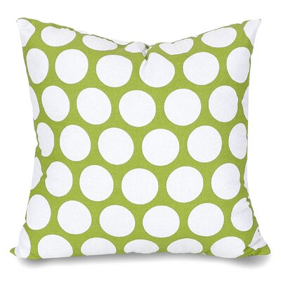 Telly Reg Large Throw Pillow Size: Extra Large, Color: Hot Green