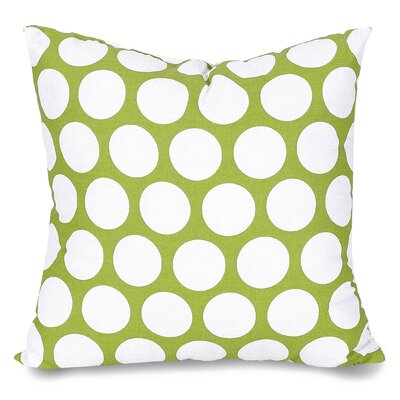 Telly Reg Large Throw Pillow Size: Large, Color: Hot Green