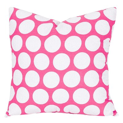 Telly Reg Large Throw Pillow Size: Large, Color: Hot Pink