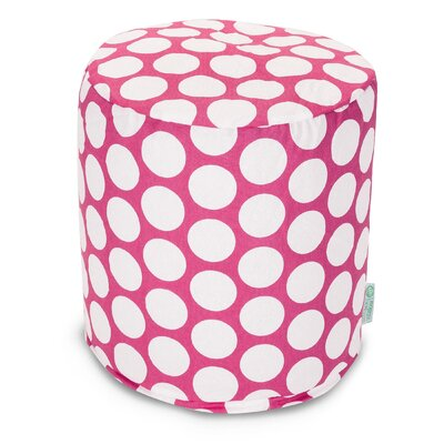 Telly Reg Small Pouf Upholstery: Hot Pink
