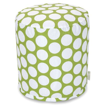Telly Reg Small Pouf Upholstery: Hot Green