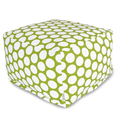 Telly Reg Pouf Upholstery: Hot Green
