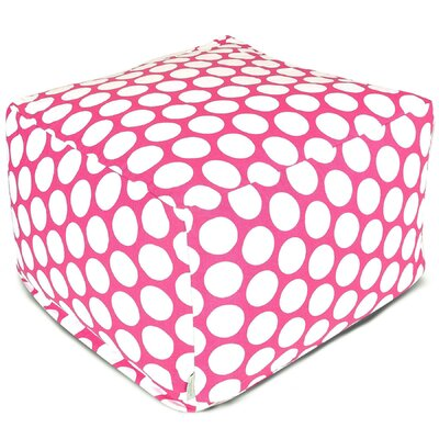 Telly Reg Large Ottoman Upholstery: Hot Pink
