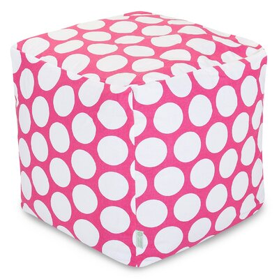 Telly Reg Pouf Upholstery: Hot Pink