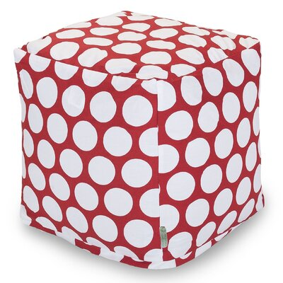 Telly Reg Small Cube Upholstery: Red Hot