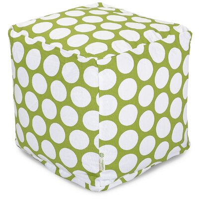 Telly Reg Small Cube Upholstery: Hot Green