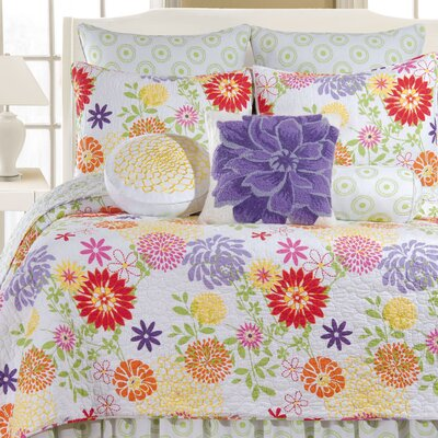 Cayce Cotton Quilt Size: Twin