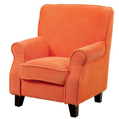Youth Armchair Color: Orange